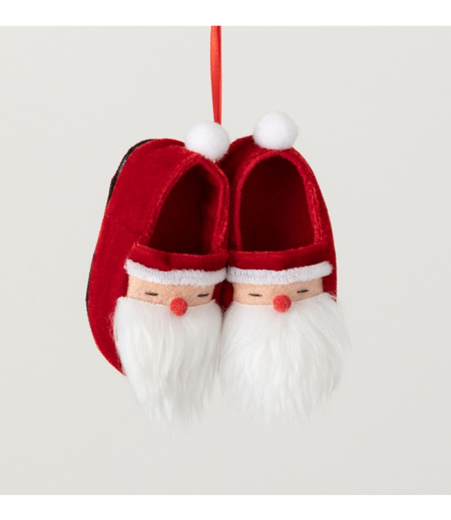 Sullivans Santa Head Slipper Ornament