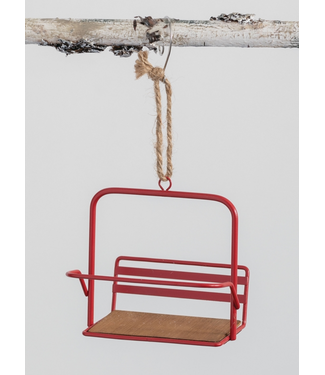 Sullivans Ski Lift Chair Ornament
