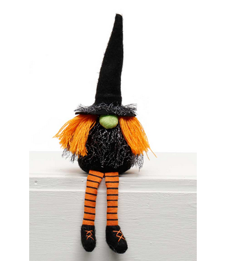 "11"" Witch Gnome with Long Legs"
