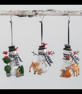 Sullivans Snowmen Ornaments