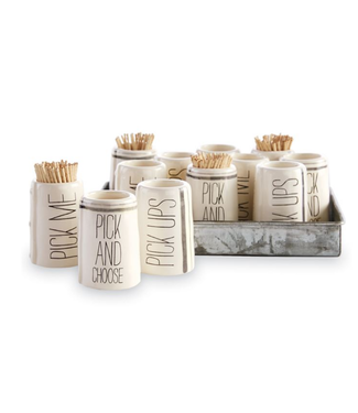 Mud Pie Toothpick Holders