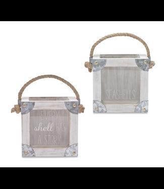 Mud Pie Seashell Display Box