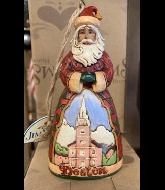 Boston Santa Orn Jim Shore