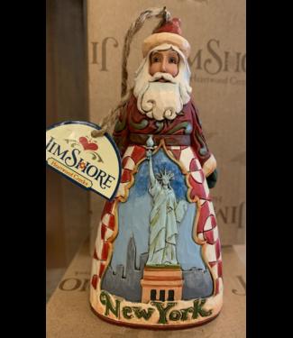Santas New York City Santa Orn Jim Shore