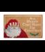 Mud Pie Winking Santa Door Mat