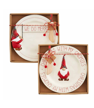 Mud Pie Gnome Cheese Sets
