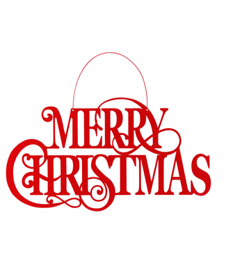 Merry Christmas Sign 22 x17.5