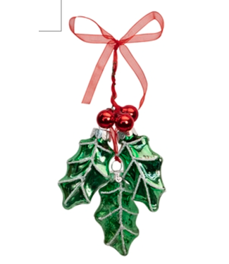 Holly Leaf Ornament