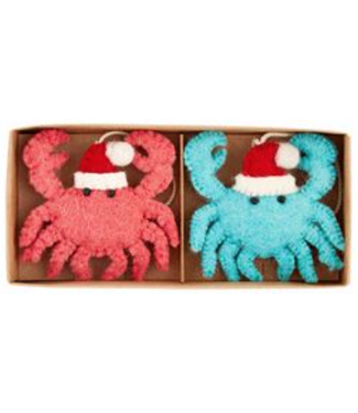 Mud Pie Crab Boxed Sea Ornament