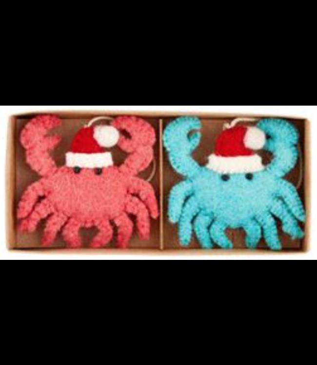 Mud Pie Crab Boxed Sea Ornament