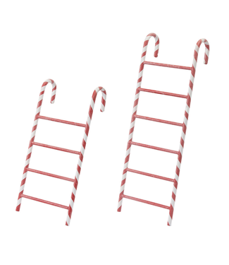 Metal Candy Cane Ladder