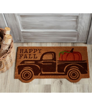Mud Pie FALL TRUCK DOORMAT