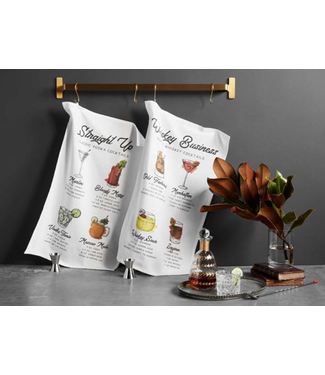 Mud Pie Cocktail Recipe Towel Set