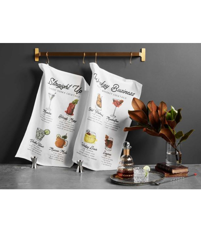 Mud Pie Cocktail Recipe Towel Set
