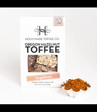 Oregon Hazelnut Toffee - Gingerbread