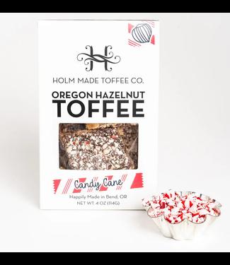 Oregon Hazelnut Toffee- Candy Cane