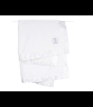 Chenille Blanket White