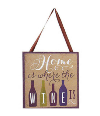 "Copy of Wine Plaque Ornament 4"""