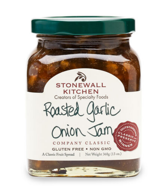 Stonewall Kitchen 13oz Roasted Garlic Onion Jam