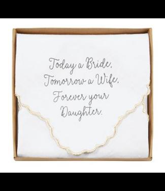 Boxed Wedding Handkerchief Bride