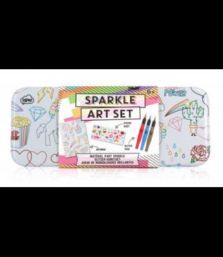 Sketch and Color Sparkle Art Set