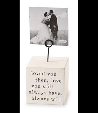 Love Always Block Frame