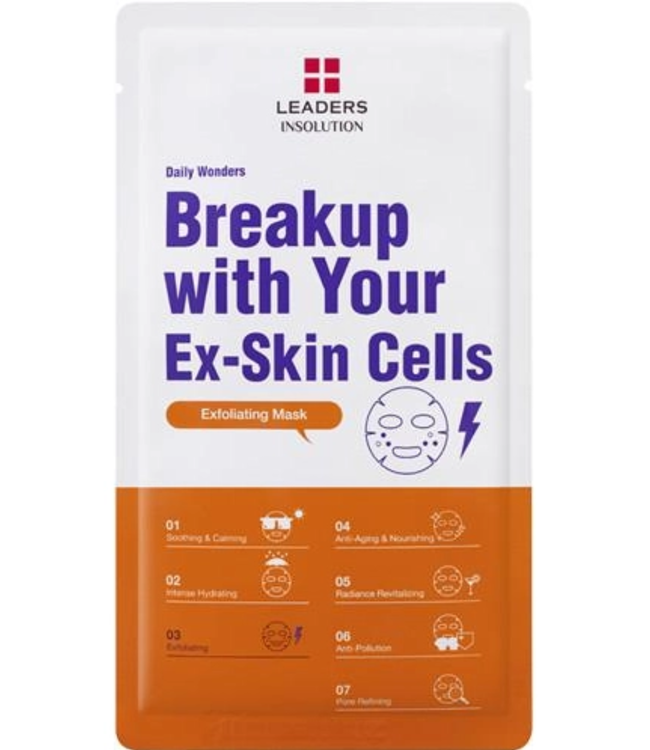 Leaders Cosmetics USA Daily Wonders Breakup with Your Ex-Skin Cells Sheet Mask