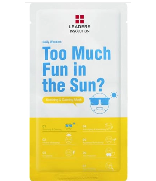 Leaders Cosmetics USA Daily Wonders Too Much Fun in the Sun Sheet Mask