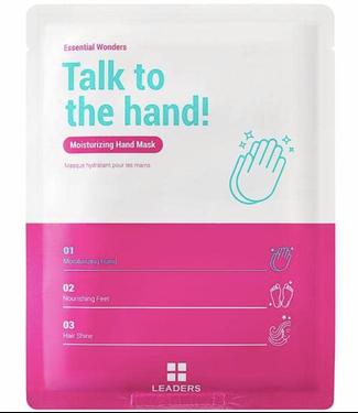 Leaders Cosmetics USA Essential Wonders Talk to the Hand Moisturizing Hand Mask