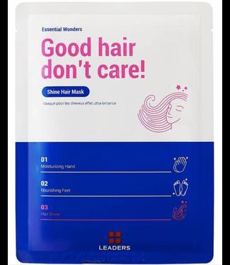 Leaders Cosmetics USA Essential Wonders Good Hair Don't Care Shine Hair Mask