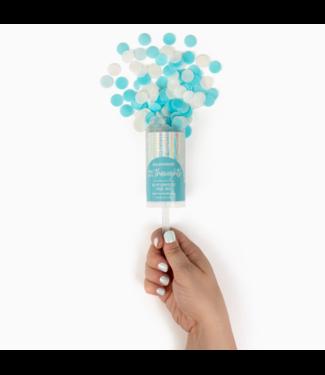 Think Happy Thoughts Bath Confetti Push Pop