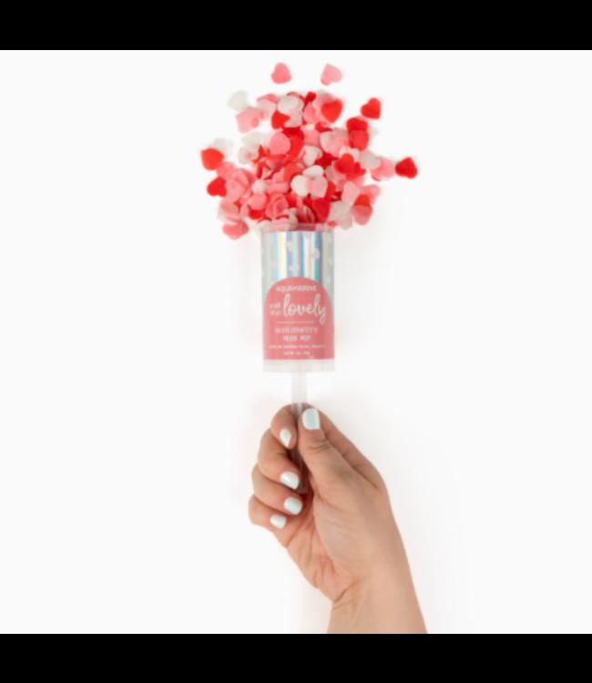 Make Today Lovely Bath Confetti Push Pop