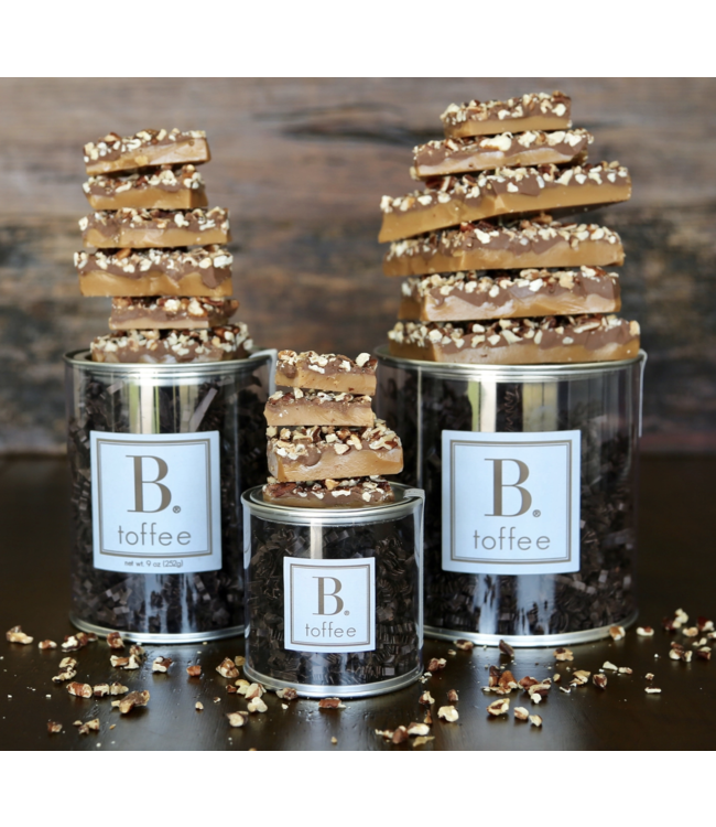 B. Toffee B. Toffee 3oz Signature Canister Dark