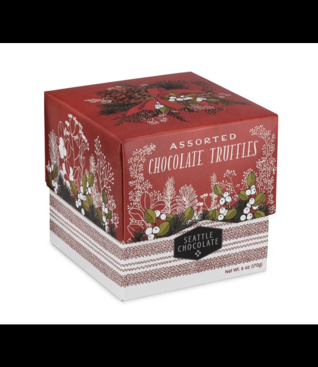Seattle Chocolate Woodland Cheer Gift Box