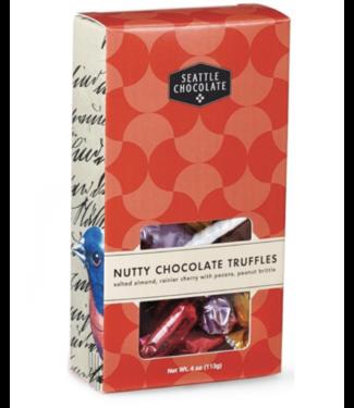 Seattle Chocolate Nutty Chocolate Truffle Box