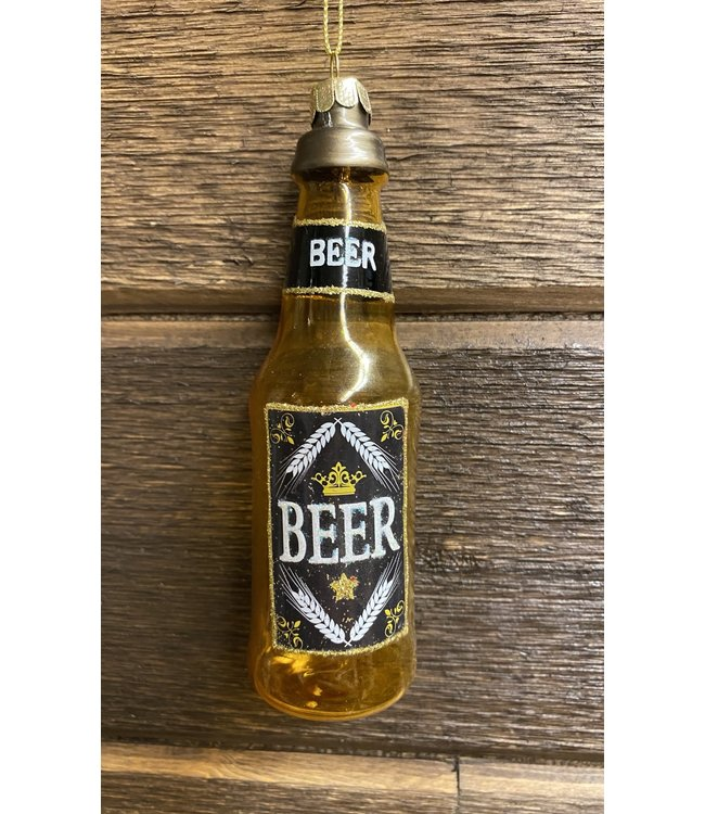"""Beer Orn Glass 5.5"""""""