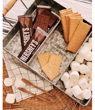 Mud Pie S'more Tray Set