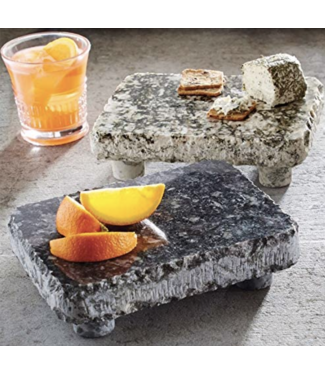 Mud Pie Granite Slab with Feet