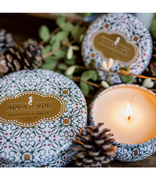 Mistletoe and Holly 9oz Soy Candle