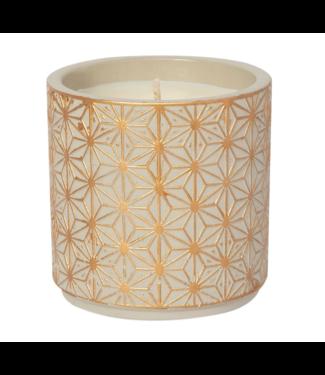 Garden Terrace Vanilla Orchid Concrete Candle 15oz