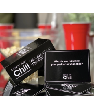 Convo and Chill Convo and Chill Card Game