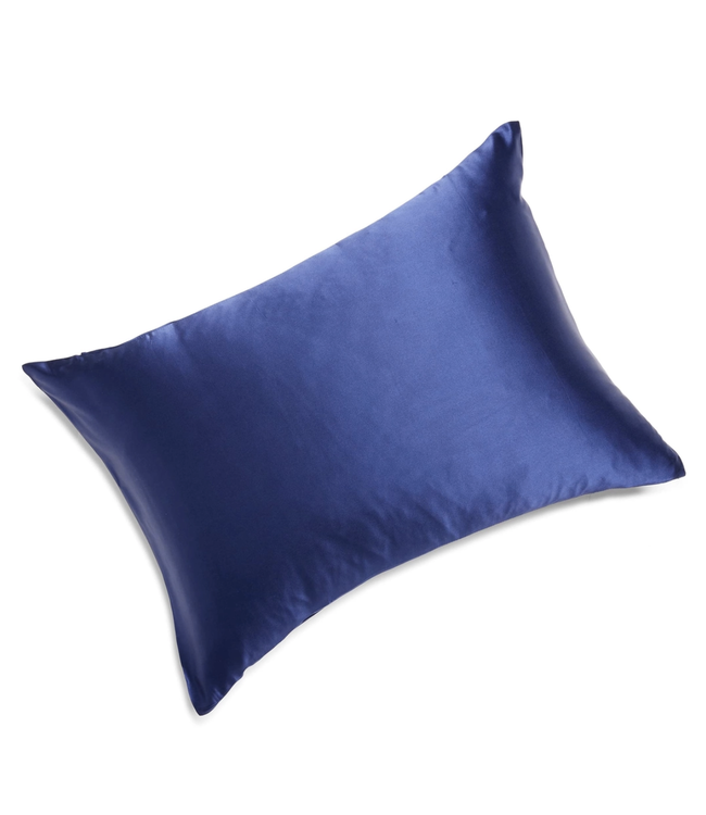 Moonlit Skincare Cloud 9 Silk Pillowcase - Night Sky Navy