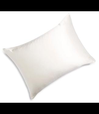 Moonlit Skincare Cloud 9 Silk Pillowcase - Ivory White