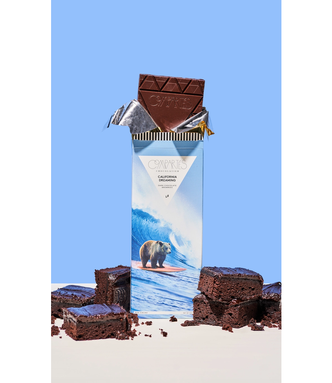 compartes chocolate California Dreaming Brownie Chocolate Bar