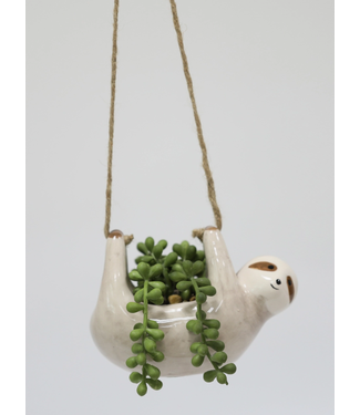 Flora Bunda String of Pearls in Hanging Sloth
