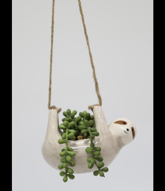 Flora Bunda String of Pearls in Hanging Sloth
