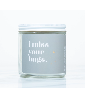 Ginger June Candle Co I Miss Your Hugs Soy Candle