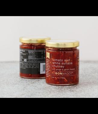 Le Bon Magot Tomato and White Sultana Chutney 7 oz