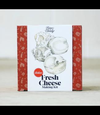 FarmSteady Fresh Italian Cheese Making Kit