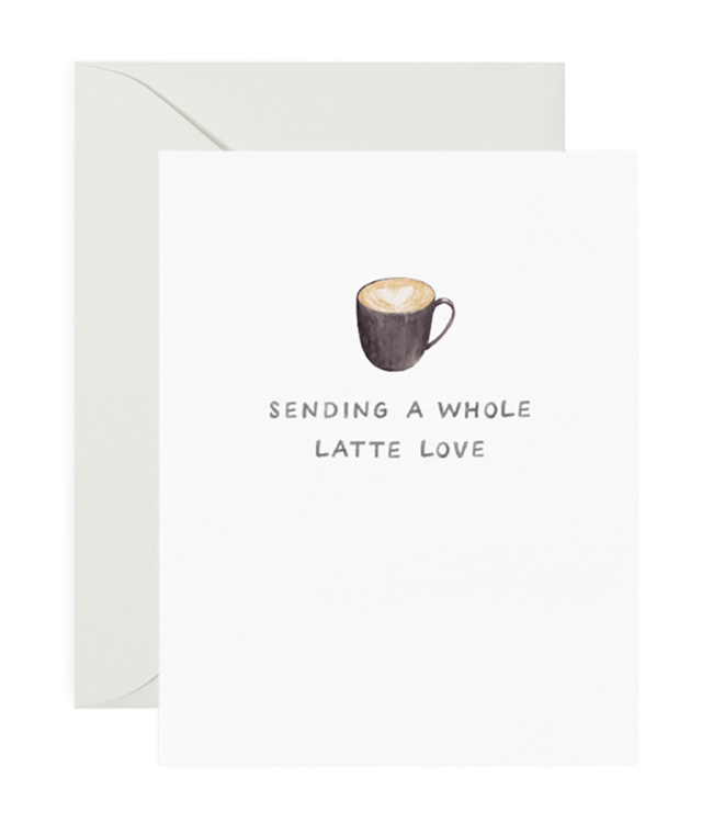 Amy Zhang A Whole Latte Love Card